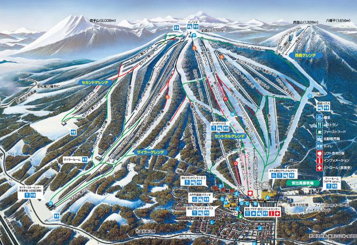安比高原スキー場 SKI&SNOWBOARD...